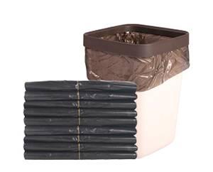 45*45酒店客房專用黑色平口垃圾袋